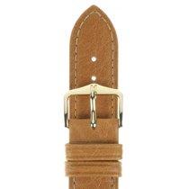Hirsch Uhrenarmband Camelgrain honig L 01009010-1-19 19mm