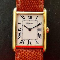 Chopard Gelb Gold 18K Vintage Luxus Armbanduhr Revision