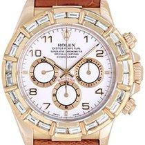 Rolex Men's Rolex Cosmograph Daytona 18k Gold Watch 16518...