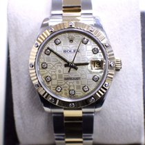 Rolex 178313 Datejust Midsize 31MM 18K & Stainless Jubile MOP