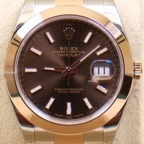 Rolex Datejust , Ref. 126301 - choco Index ZB/Oysterband