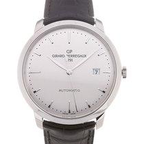 Girard Perregaux 1966 40 Date Silver Dial