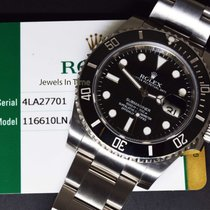 Rolex Submariner Date 40mm Steel Ceramic Mens Dive Watch...