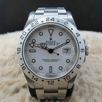 Rolex EXPLORER 2 16570 White Dial Mint Condition