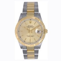 Rolex Men's Rolex Turnograph 2-Tone Steel & Gold...