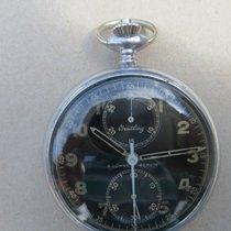 브라이틀링 (Breitling) Militär Uhr A.Lünser Berlin Chronograph