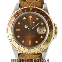 Rolex GMT-Master II Steel & Yellow Gold Root Beer R Serial...