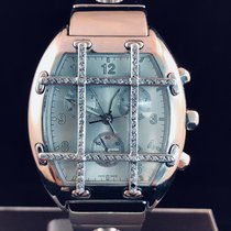 Van Der Bauwede Magnum Chronograph Diamonds - 48mm - Silver /...