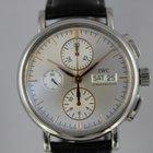 IWC Portofino Chronograph IW378302 #A3034 Box, Papiere
