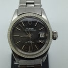 Tudor PRINCESS OYSTERDATE WHITE GOLD BEZEL NICE GREY DIAL