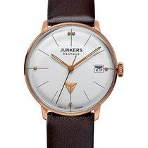 Junkers Bauhaus Lady Swiss Quartz Watch 35mm R/gold Case 3atm...