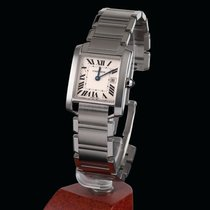 Cartier Tank Francaise Steel Medium Size