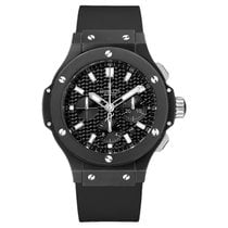 Hublot Big Bang Black Magic 44mm Automatic Ceramic Mens Watch...