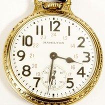 Hamilton Pocket Watch 21 Jewels 6 Position  movement #992B...