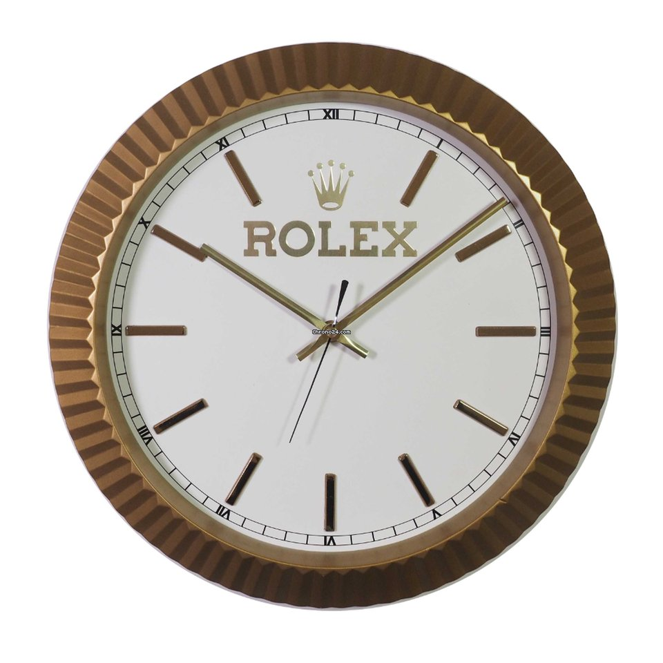 Rolex wall clock for 1796 for sale from a trusted seller on chrono24 amipublicfo Image collections
