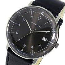 ユンハンス (Junghans) ユンハンス マックスビル クオーツ メンズ 腕時計 041446200 ブラック