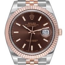 Rolex Datejust II Steel & Everose Chocolate/Index 126331