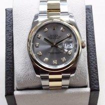 Rolex Datejust 116203 Original Diamond Dial 18k Yelow Gold...