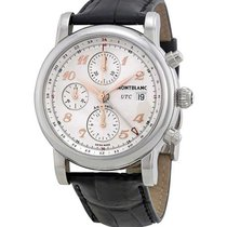 Montblanc 110590 Star Chronograph UTC 42mm Automatic in Steel...