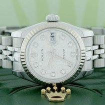 Rolex Datejust Ladies 26MM White Gold Bezel Original Jubilee...