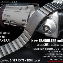 Strapcode Panerai PAM000 005 111 Bandoleer Replacemebt Band PVD