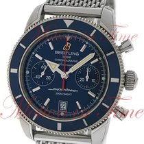Breitling Superocean Heritage Chronograph 44mm, Blue Dial,...