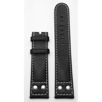 Union Kalbslederband 21/20mm schwarz D610002169