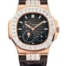 Patek Philippe 5724R-001 Nautilus Rose Gold and Baguette Diamond