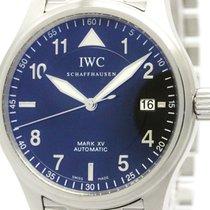 IWC Mark 15 Xv Spitfire Steel Automatic Watch Iw325307 3253...