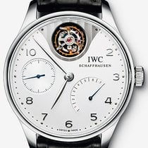 IWC Men's IW504204 Portuguese Tourbillon Mystère Limited...