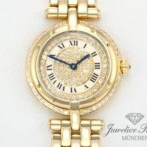 Cartier Panthere Ronde Lady Gelbgold 750 Diamanten