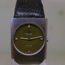 Omega vintage 1970 DE VILLE NOS kaki dial ref st 511.343 cal 343