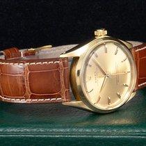 Rolex Oyster Perpetual Gelbgold/18kt. aus 1963   Neue Revision