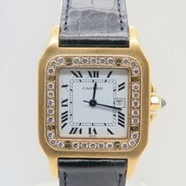 Καρτιέρ (Cartier) Santos Galbee 18k Yellow Gold Afterset...