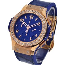 Hublot 341.PL.5190.LR.1104 Big Bang Dark Blue Diamonds Gold...