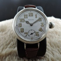 Rolex OFFICER with Original Enamel White Dial with Arabic...