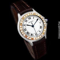 Cartier Cougar (Panthere) Ladies Watch - Stainless Steel, 18K...