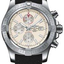 Breitling Super Avenger II White Dial Chronograph 48mm