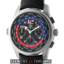 Girard Perregaux WW.TC F1053 World Time Chronograph Titanium...