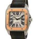 Cartier [NEW]CARTIER Santos 100RoseGold W20107X7(List PriceHK$...