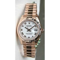 Rolex Presidential 179175 Ladies New Style Heavy 18K Rose Gold...