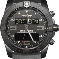 Breitling Exospace B55 Connected Metallic Grey Rubber Men'...