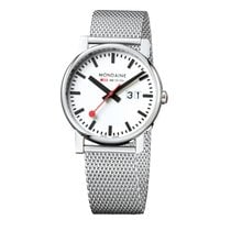Mondaine Unisex Quartz 40mm EVO BIG A627.30303.11SBM