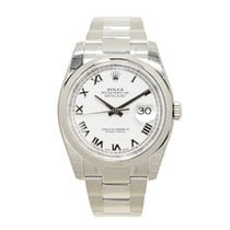勞力士 (Rolex) Datejust Stainless Steel White Automatic 116200WTRN