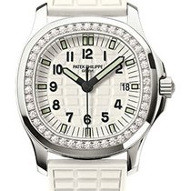 Patek Philippe Aquanaut Luce Ladies White Dial Diamond Bezel...