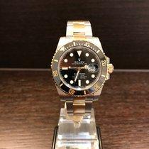 """Rolex Submariner Date Steel/Gold """"Black"""" 116613LN"""