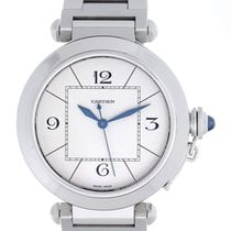 カルティエ (Cartier) Pasha de Cartier Stainless Steel 42mm Men'...