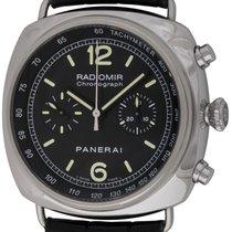 Panerai : Radiomir Chronograph :  PAM 288 :  Stainless Steel...
