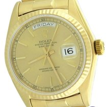 Rolex Day-Date President 36mm 18038 18K Yellow Gold Champagne