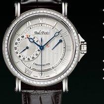 Paul Picot Atelier Règulateur strap skin black dial white...